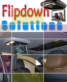 Flipdown Monitors